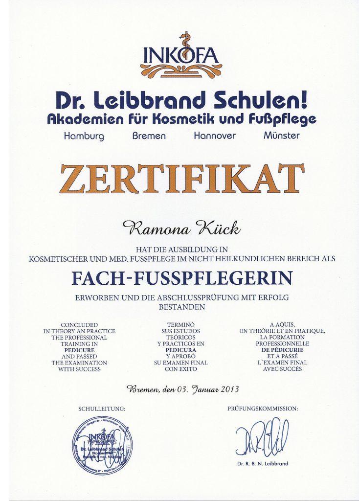 Fusswerk-Kueck » Unternehmen
